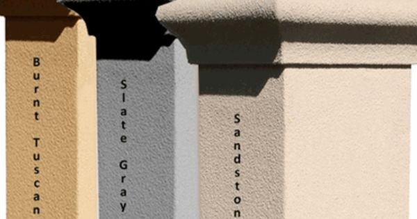 Most Popular Stucco Colors Stucco Column Only For