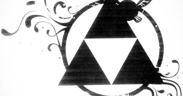 triforce tattoo by nemulendil on deviantart crafts pinterest tattoo ideen ideen f r das. Black Bedroom Furniture Sets. Home Design Ideas