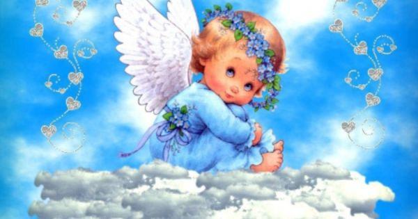 Blue Baby Other Wallpaper Id 1292958 Desktop Nexus Abstract Angel Wallpaper Baby Angel Angel Pictures