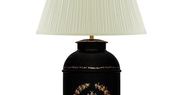 Inredning, möbler & fontäner | Lampfot, 17,5 cm, röda pioner