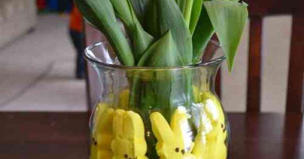 Idées de décoration florale pour Pâques  Compositions florales ...