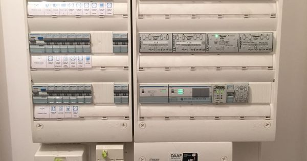 Les Tableaux Electriques Et Domotique Tableau Electrique Maison Domotique Installation Domotique