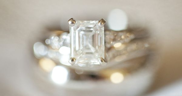 Gorgeous Emerald Cut Diamond Ring