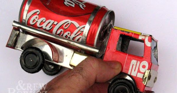 Soda Can Model Aluminum Can Crafts Soda Can Crafts Coke Can Crafts