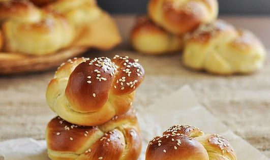 Homemade challah rolls made into small rolls for dinner mini sandwiches or sliders the prefect - Kitchenaid challah ...