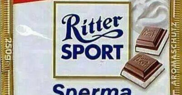 ritter sport sperma ritter sport pinterest sports. Black Bedroom Furniture Sets. Home Design Ideas