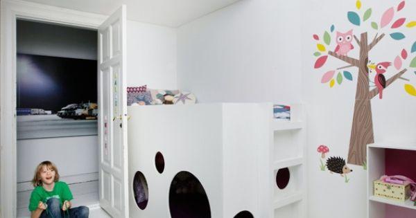 SLEEP AND PLAY - Loft Beds Secret hiding place under bed | Kids ideas ...