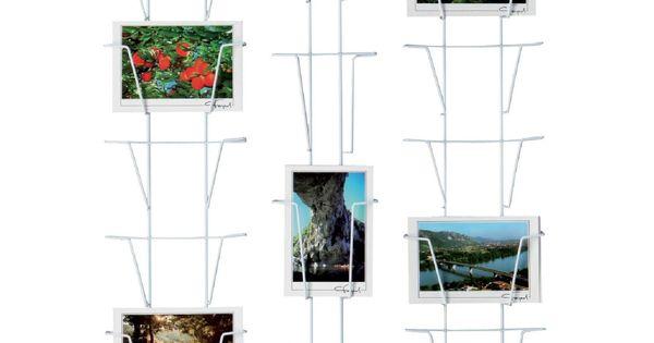 pr sentoir mural pour cartes postales 18 6 vues peintures murales. Black Bedroom Furniture Sets. Home Design Ideas