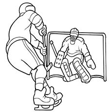 Top 10 Free Printable Hockey Coloring Pages Online Sports Coloring Pages Coloring Pages Coloring Books