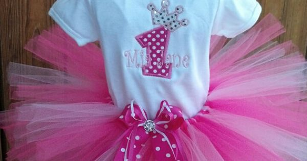 princess first birthday tutu outfit by TrueBlueTouchLAB on Etsy, $32.00 would love