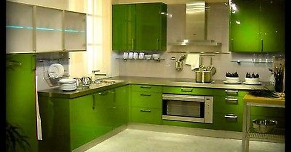 Orange And Lime Green Kitchen : Lime green kitchen, Kitchen cabinets and Kitchen cabinet doors on ...