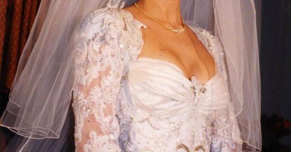 Celine Dion Wedding Dress Celebrity Vintage Style