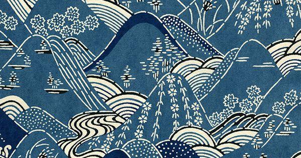 Hoa văn trang trí đặc trưng của người Nhật Bản ,được sử