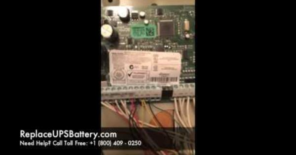 Dsc Alarm Systems Pc2550 How To Replace The Battery Dsc Alarm Alarm Alarm System