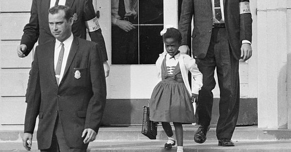 """Don't be afraid."" That's what Ruby Bridges' mother told her on November"