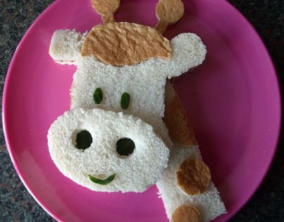 Fun Food For Toddlers | Funky Lunch – Breakfast Sandwiches For Kids