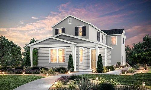 Savannah Ii By Signature Homes Ca In Stockton Lodi California