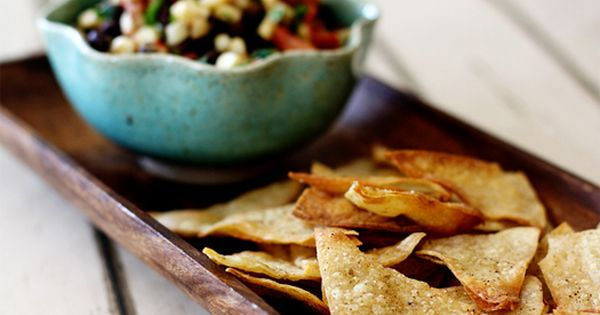 Baked Tortilla Chips : Cumin Chipotle Lime Chips! (Recipe in middle of