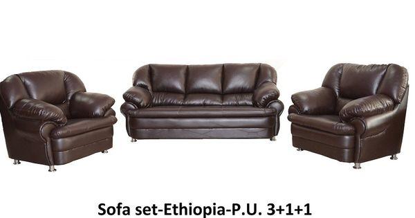 Sofa Set Ethiopia P U 3 1 1 Living Room Furniture Online Sofa Set Living Room Furniture Online Seat Foam
