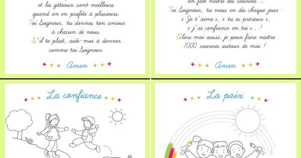 cartes pri res pour les enfants colorier disponibles dans le journal gratuit pour l 39 veil. Black Bedroom Furniture Sets. Home Design Ideas