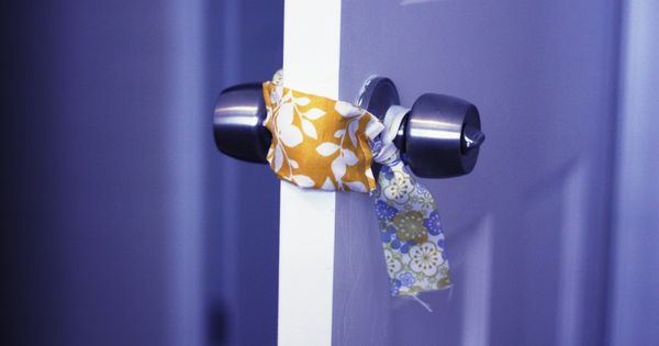 Fisher's Mommy: DIY Baby Room Door Muffler