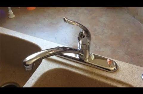 Fast Leaky Faucet Fix Moen 1225 Cartridge Replacement Moen