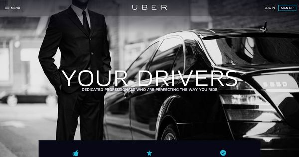 uber driver car rental program