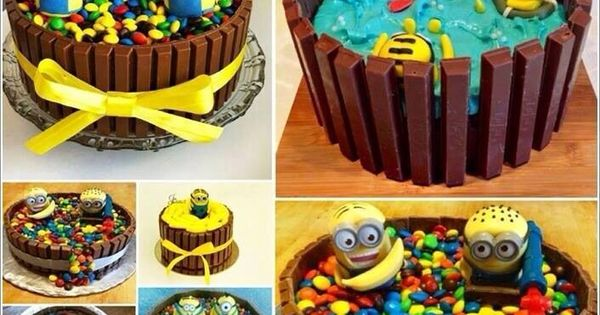 minions cake cakes pinterest minions lecker schmecker und geburtstagskuchen. Black Bedroom Furniture Sets. Home Design Ideas