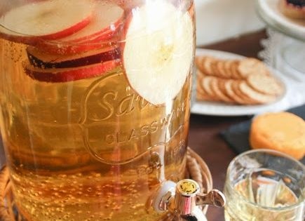 You could use Mountain Valley for the Sparkling Cider Recipe, Fall Party