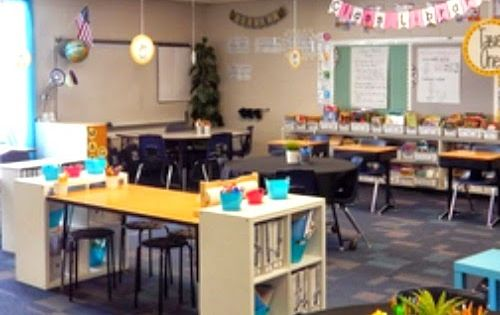 Collaborative Classroom Procedures ~ New classroom set up encouraging self directed learning