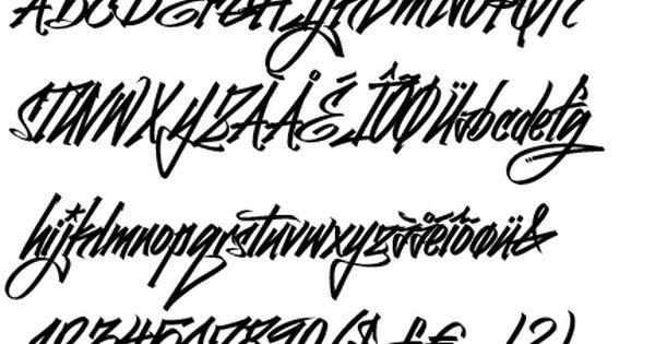 Graffiti Font Generator Online Free Fonts Lettering