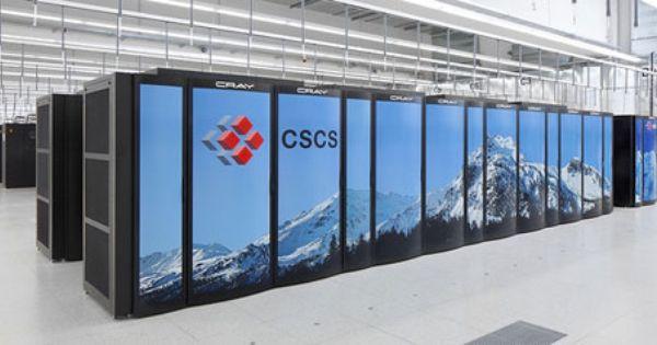Piz Daint Web Data Center Supercomputer Innovation Management