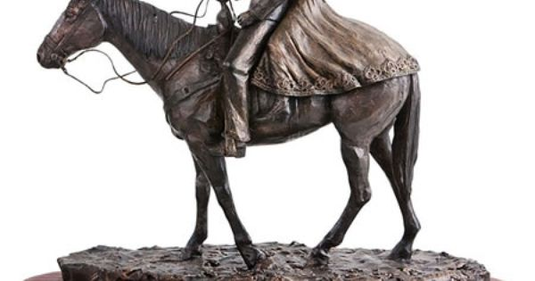 Wedding Statue Gifts: Happy Trails, Cowboy Couple On Horse- Wedding-Related