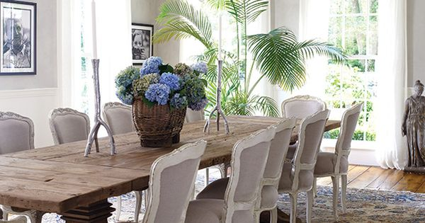 The Rustic Dining Table Gets Dressed Up With Nineth