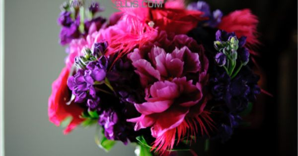 Purple And Pink Bouquet Bella Rosa Floral Design Flowers Wedding Flowers Fall Wedding Flowers