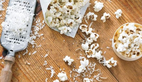 Popcorn is the simplest of snacks, but it reaches a new level