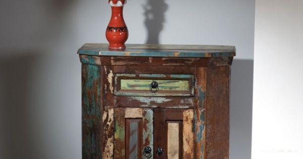 Kommode Raslünd aus Altholz im Vintage Look  Muebles  Pinterest ...