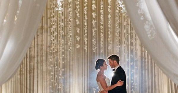 Indoor Ceremony Inspirations: Indoor Wedding Ceremony ~Elegant Arch Decorations Created