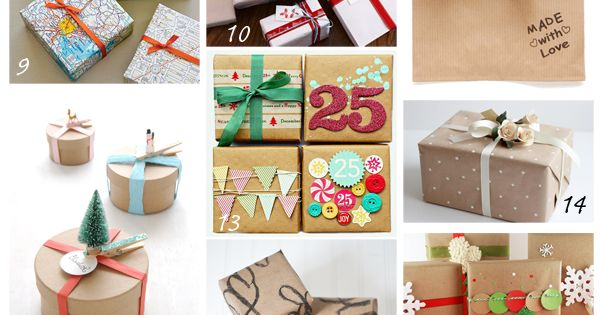 Wrapping paquetes de regalos diy pinterest - Paquetes de regalo ...