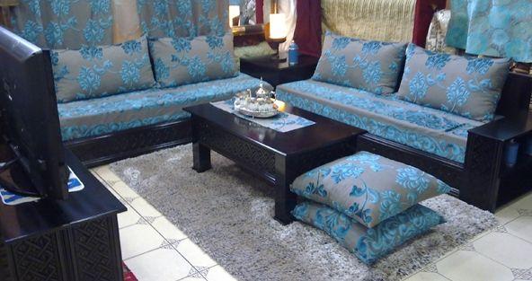 Décoration Salon Marocain Moderne 2015: Salon marocain hyper ...
