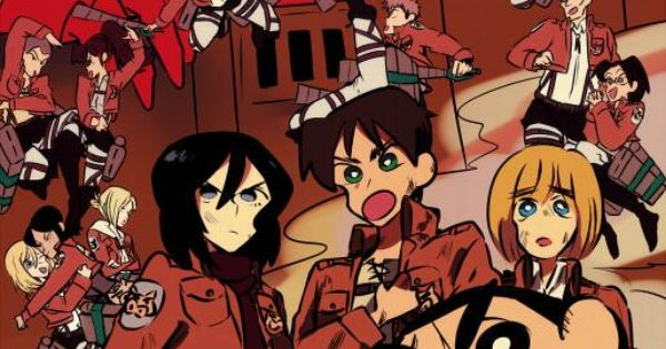 attack on titan general moving images discussion sinchan cartoon anime crossover anime
