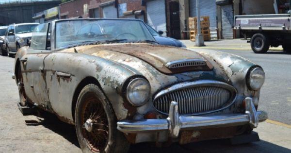Pin Su Abandoned Cars