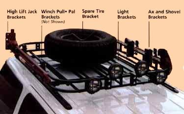 Safari Rack For Your Jeep Roof Rack Jeep Commander Jeep Jeep Xj