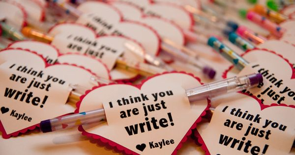 Valentine's idea for kids' classes