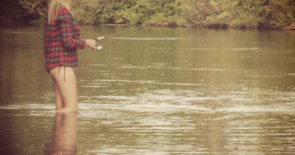 Oh how i love it shes country pinterest country for Country girl fishing