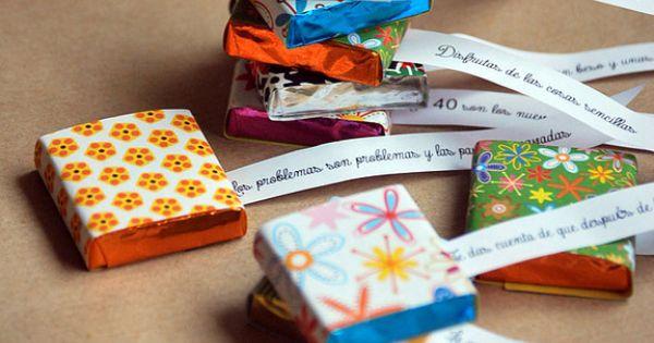 vuestras ideas regalo personalizado con chocolatinas On ideas regalos personalizados