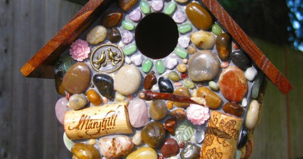 Glue Gun & Rocks, Shells, Sea Glass, Marbles, Buttons