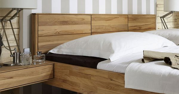 Komplettes Schlafzimmer in einem Look gestalten Massivholzmöbel - schlafzimmer eiche