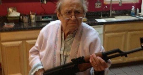 Granny Has A Gun 14