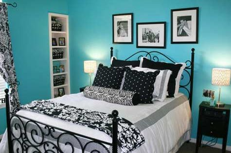 19 Inspiring Traditional Black And White Bedroom: 19 Inspiring Traditional Black And